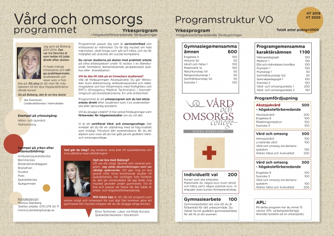 VO:s informationsblad